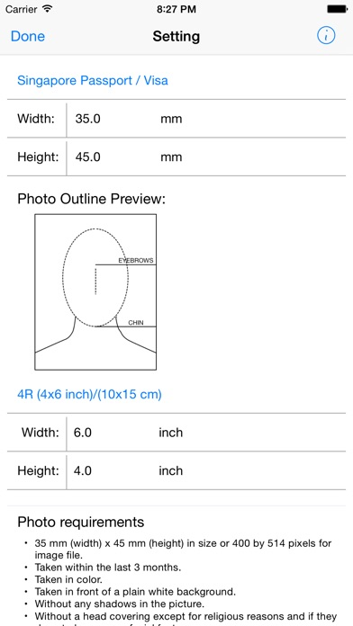 I.D. Photo Maker FreeScreenshot of 2