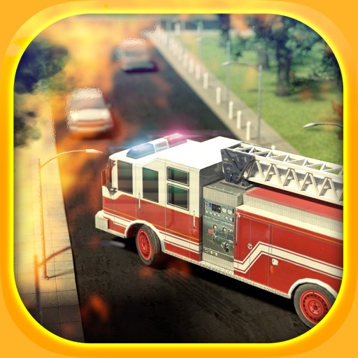 Emergency Simulator PRO - Driving and parking police car, ambulance and fire truck iOS App