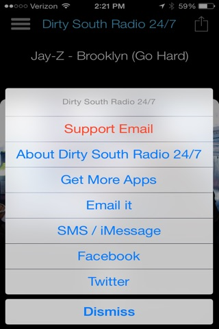 Dirty South Radio 24/7 screenshot 2
