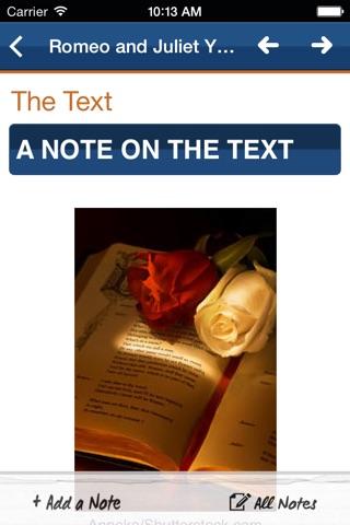 Romeo and Juliet York Notes Advanced screenshot 4