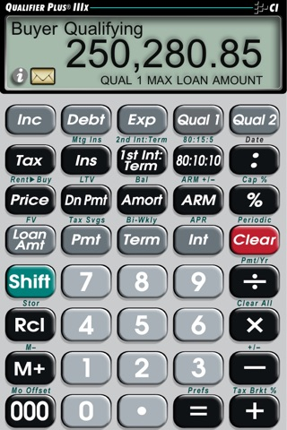 Qualifier Plus IIIx -- Advanced Residential and Commercial Investment Real Estate Finance Calculator screenshot 3