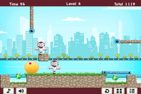 Hero Challenge - Swinging Robot Mania FREE screenshot 2