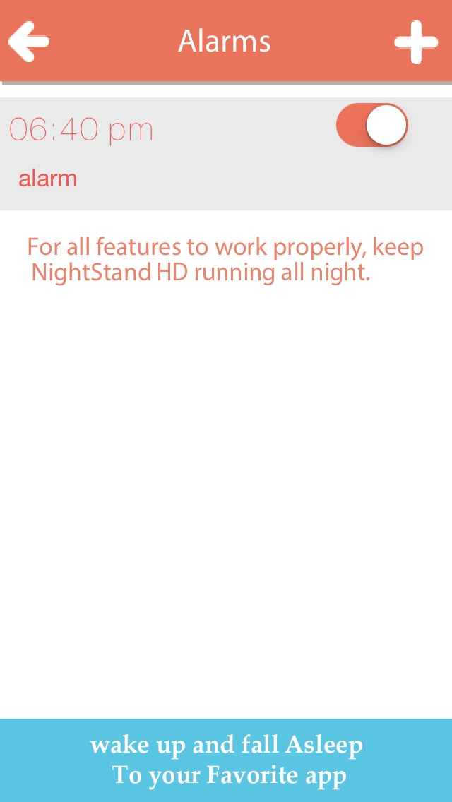 download Night Stand HD - Free Music Alarm Clock with Weather & Sleep Timer apps 0