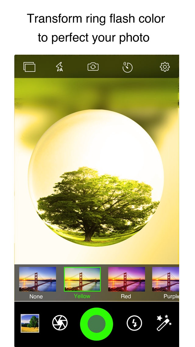 download Fisheye Plus Free - Lomo Fisheye Camera with Crystal ball Lens and Color Flashlight apps 1