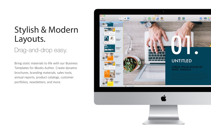 Business Templates iBooks Author Edition on the Mac App Store