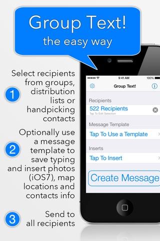 Group Text! screenshot 1