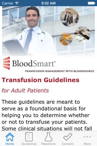 BloodSmart screenshot 1