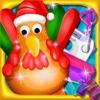 kids game-make turkey toy