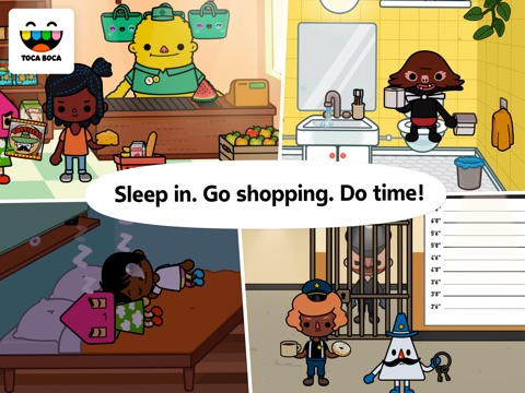 Screenshots of Toca Life: Town for iPad