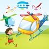Avventuroso Elicottero Race Bambini Gioco: Apprendimento Per Ragazzi e Ragazze
