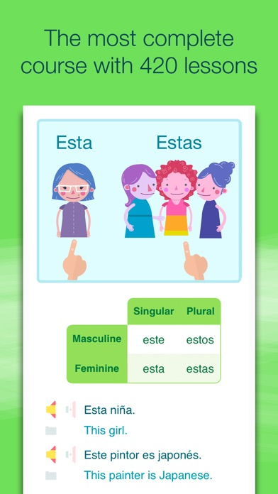 Learn Spanish with Wlingua iPhone
