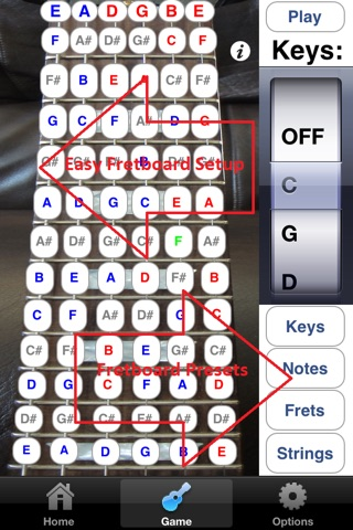 Electric Guitar Fretboard Addict screenshot 4