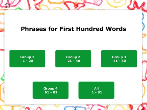 Screenshot #2 for Instant Phrases by Teach Speech Apps