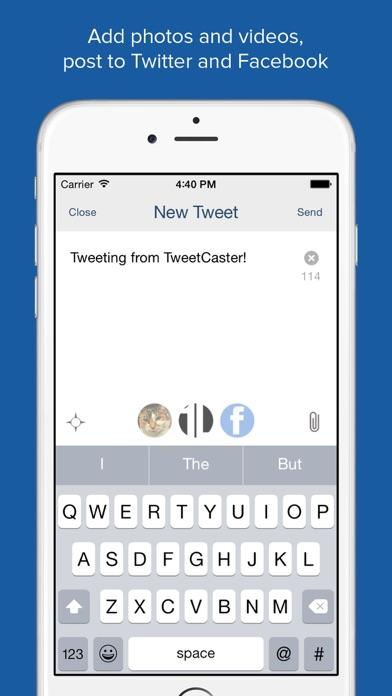 TweetCaster Pro for T... screenshot1