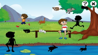 活跃!儿童游戏与猫: 学习和娱乐 对于幼儿园,保育园屏幕截图4