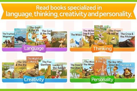 Aesop Brain – brain development story books 50 screenshot 4