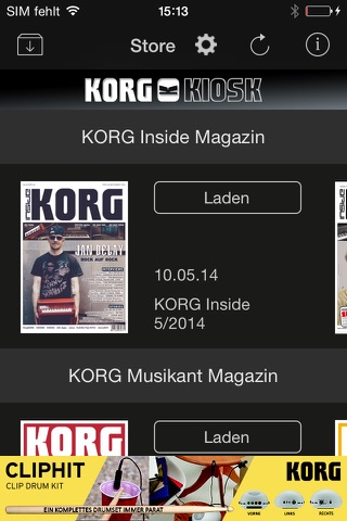 KORG Kiosk screenshot 1