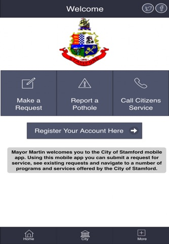 MyStamford screenshot 2