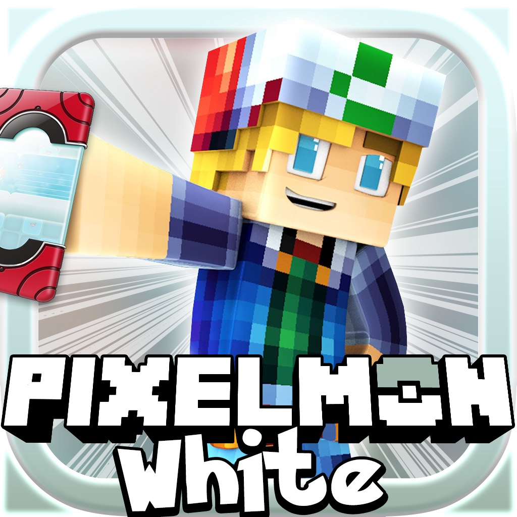 Pixelmon WHITE: MC Hunter Survival Mini Block Game with Multiplayer