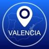 瓦倫西亞離線地圖+城市指南導航,旅遊和運輸