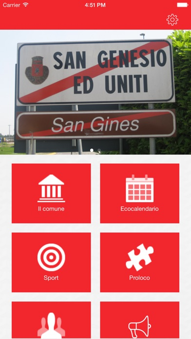Screenshot of APP San Genesio2