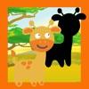 動畫的Safari動物在一個孩子-S益智遊戲,學習,觀看與發現