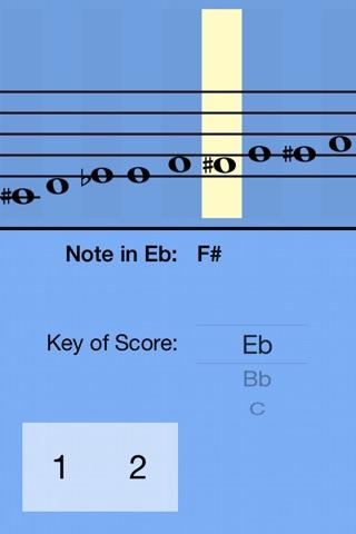 Alto Saxophone Fingering Guide screenshot 1