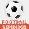 Fußball-Reminder App - Stundenplan Ablaufplan Reminders-Sport