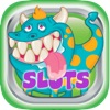 A Monsters Slot Machine – FREE casino games for kids no deposit !!!