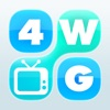 4 Word TV Game HD - Find the link and guess the TV show