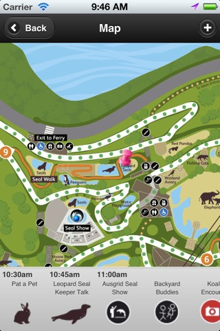Taronga Zoo Sydney map & shows screenshot 1