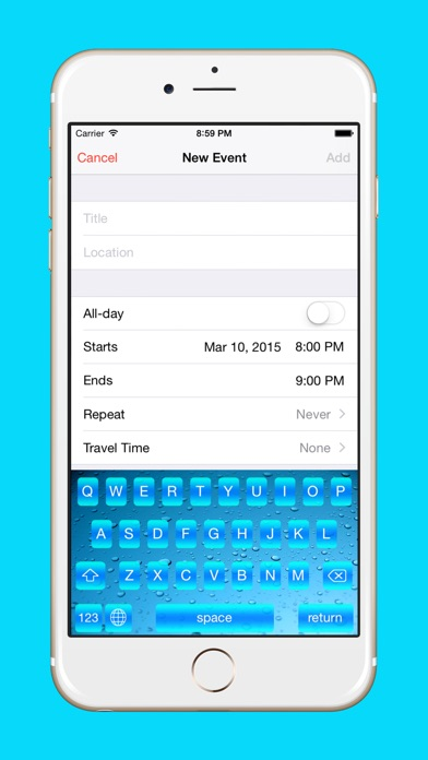Season Key : Customize Your Keyboard With Beautiful Seasonal Themes screenshot three