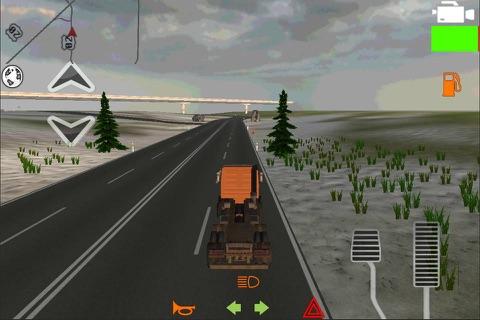 Truck Driver 3D Pro screenshot 1