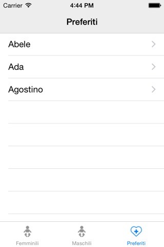 Nomi per tuo bambino screenshot 4