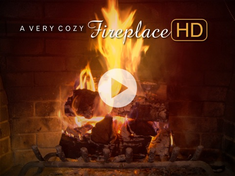 A Very Cozy Fireplace HD on the App Store