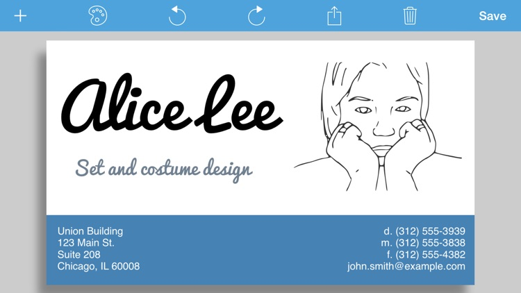 Businesscardmaker for ios design and print a business card by businesscardmaker for ios design and print a business card reheart Images