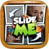 Slide Me Puzzle : Scientist Tiles Quiz  Picture Games
