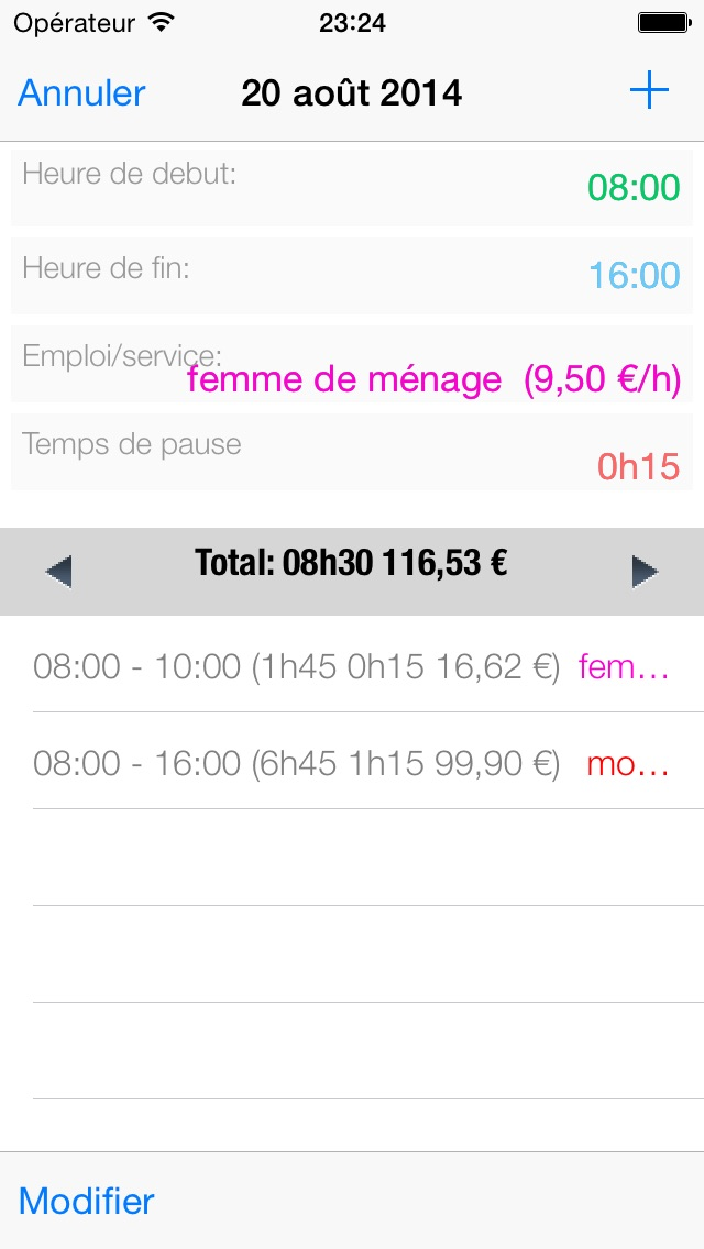 download mes horaires de travail apps 1