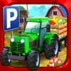 Farm Truck Car Parking Simulator - Real Tractor Driving Test Sim Racing Games
