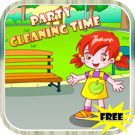 Party Cleaning Time Game iOS App