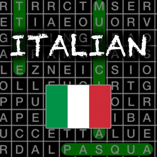 Italian Vocab Word Search iOS App
