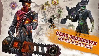 Screenshots of Six-Guns: Gang Showdown for iPhone