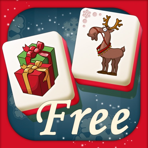 Christmas Mahjong HD iOS App