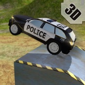 Crazy 4x4 Off-Road SWAT Police Car Stunts Race