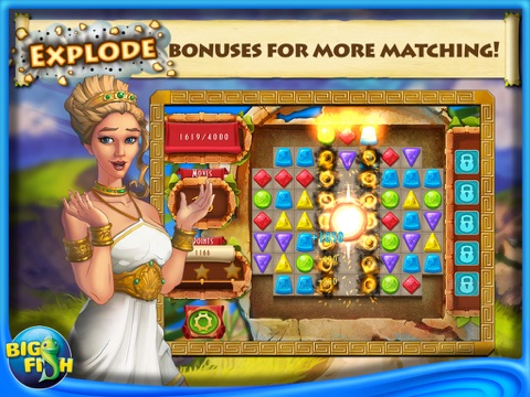 Greek Gems - A Collapse Game-ipad-0