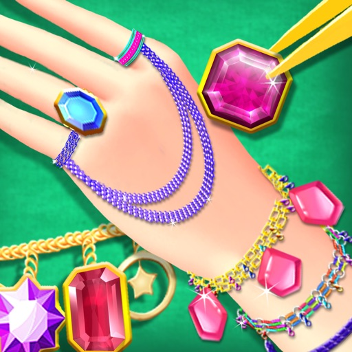 Princess Jewelry Maker Salon - Girls Accessory Design Games iOS App