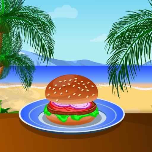 Cooking Tasty Hamburger iOS App