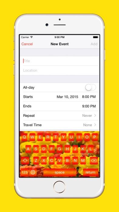 Season Key : Customize Your Keyboard With Beautiful Seasonal Themes screenshot two