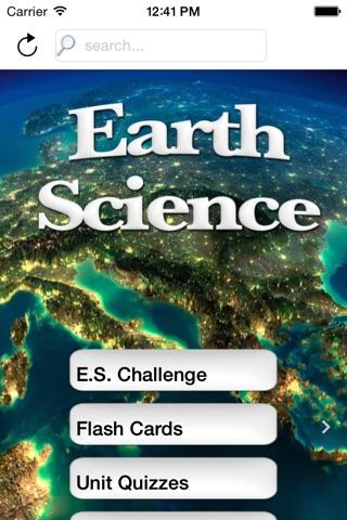 HS Earth Science Buddy screenshot 1