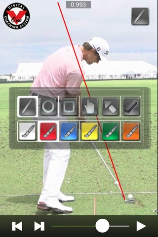 V1 Golf screenshot 1